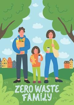 Familia zero waste.