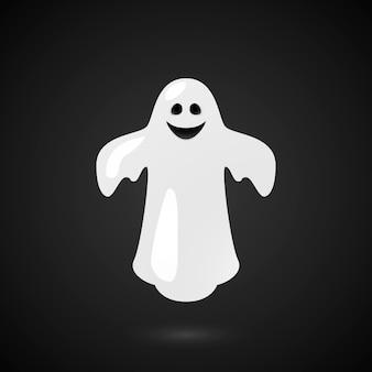 Fantasma. víspera de todos los santos. vector