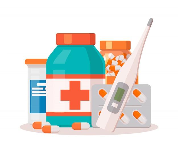 Farmacia de medicina.