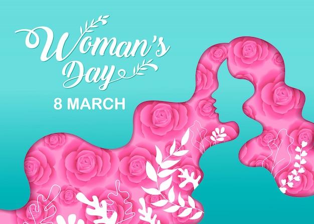 Felices fiestas del día de la mujer