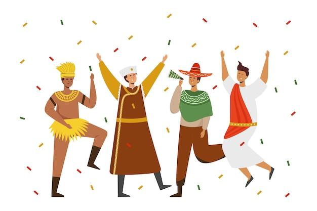 Felicidad del pueblo brasileño