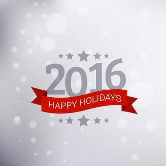 Felicitación de vacaciones de nuevo año