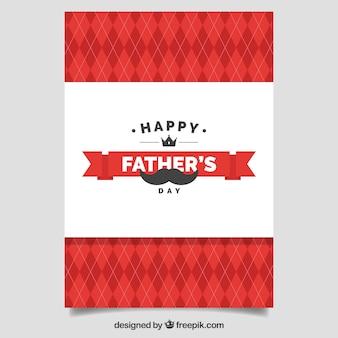 Felicitación vintage del día del padre