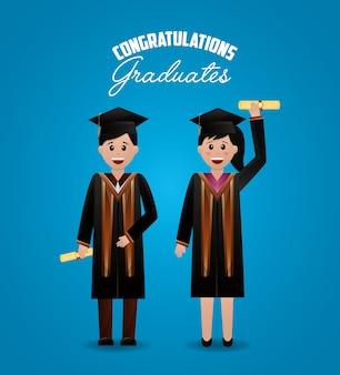 Felicitaciones fondo de graduación