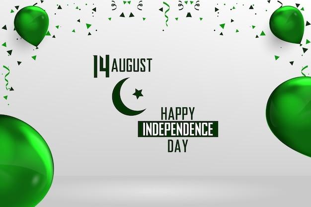 Feliz 14 de agosto día de la independencia de pakistán
