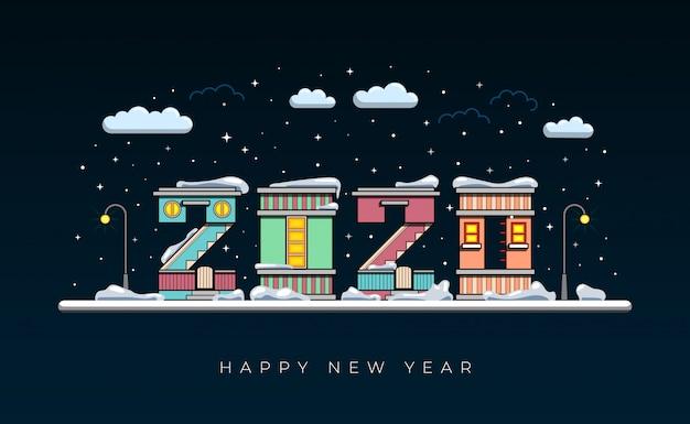 Feliz año nuevo 2020 año de la rata.