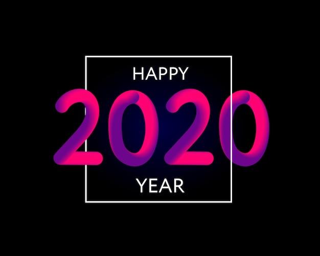 Feliz año nuevo 2020 texto