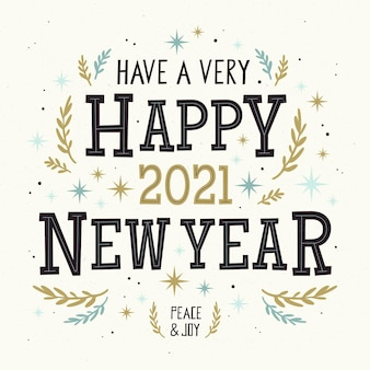 Feliz año nuevo 2021 letras