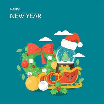 Feliz año nuevo escena