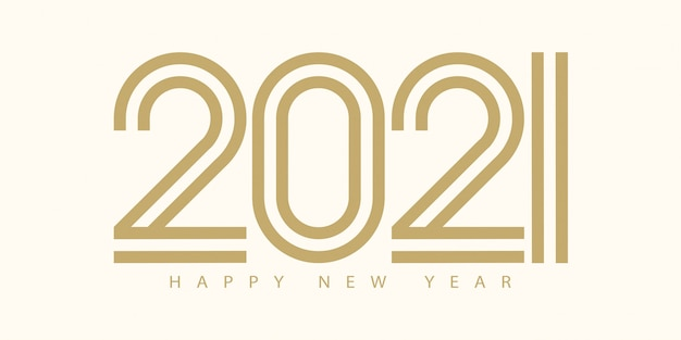 Feliz año nuevo saludo de texto.