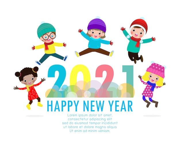 Feliz año nuevo tarjeta de felicitación