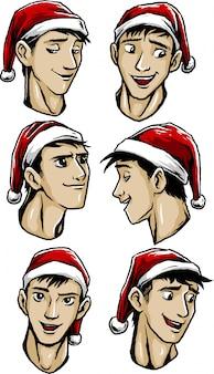 Feliz celebra la navidad