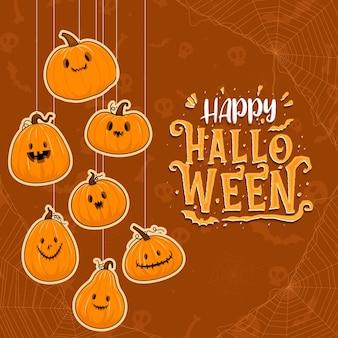 Feliz celebración de halloween