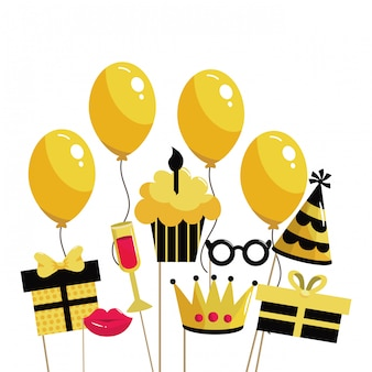 Feliz cumpleaños de dibujos animados