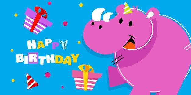 Feliz cumpleaños, fiesta, saludo de celebración de baby shower y tarjeta de invitación.
