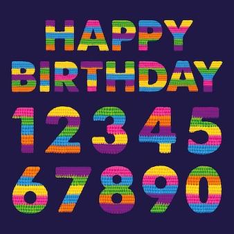 Feliz cumpleaños mexicano
