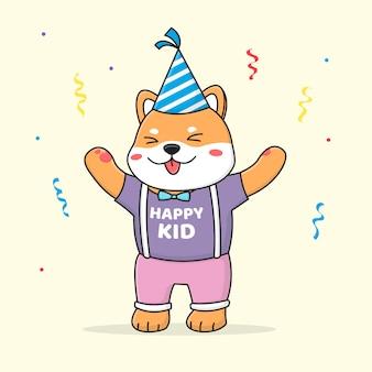 Feliz cumpleaños shiba inu
