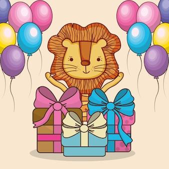 Feliz cumpleaños tarjetas de dibujos animados