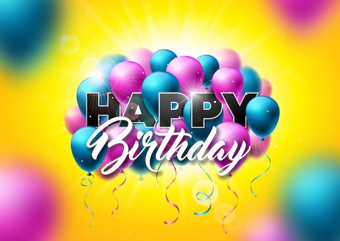 Feliz cumpleaños vector design