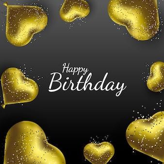 Feliz cumpleaños vector de fondo