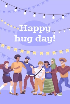 Feliz dia del abrazo