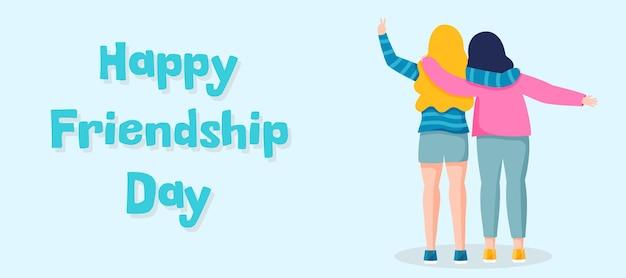 Feliz día de la amistad