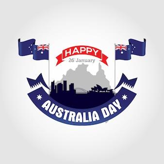 Feliz dia de australia