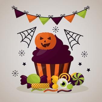 Feliz dia de celebracion de halloween