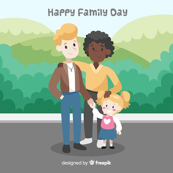Feliz día de la familia