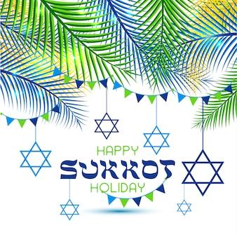 Feliz día de fiesta de sukkot.