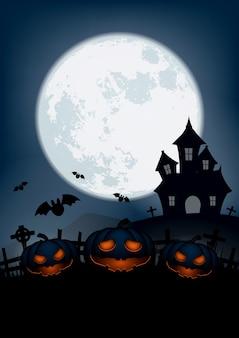 Feliz día de halloween fondo