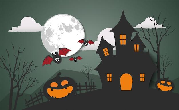 Feliz día de halloween vector diseño