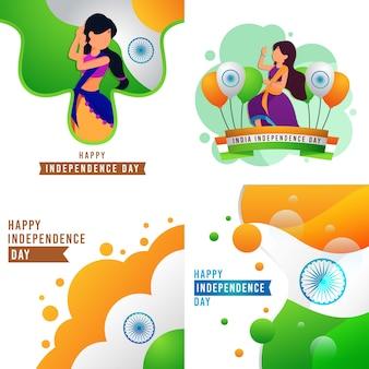 Feliz día de la independencia de la india
