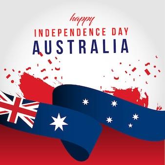 Feliz día independiente de australia