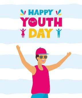 Feliz dia de la juventud