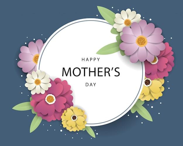 Feliz día de la madre ilustración
