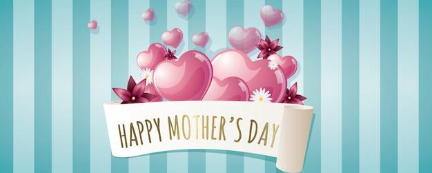 Feliz dia de las madres banner