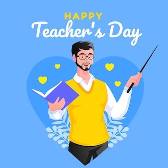 Feliz dia del maestro gracias maestro