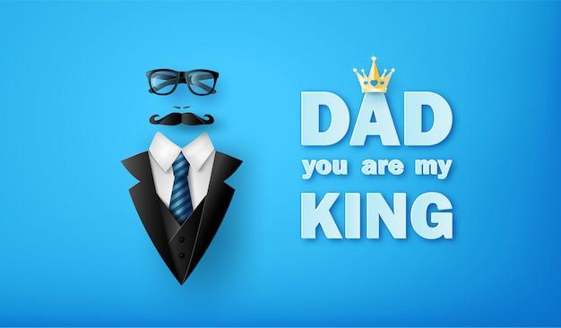 Feliz dia del padre saludo
