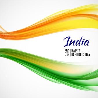 Feliz día de la república india el 26 de enero.