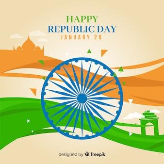 Feliz día de la república de la india