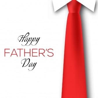 Feliz día de la tarjeta de felicitación del padre.