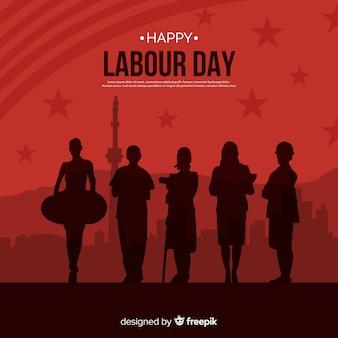 Feliz día del trabajador fondo