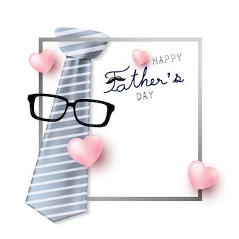 Feliz diseño de concepto del día del padre