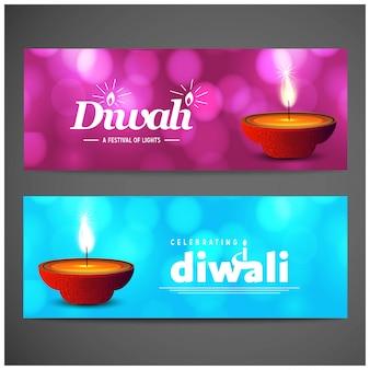 Feliz diwali con diseño creativo y tipografía vector
