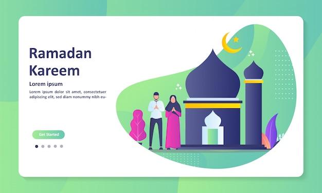 Feliz eid mubarak banner