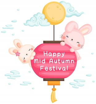 Feliz festival del medio otoño