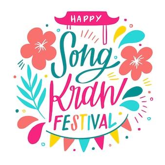 Feliz festival de songkran