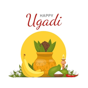 Feliz festival de ugadi