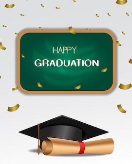 Feliz fiesta de graduación celebración